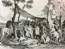 Napoléon Bonaparte Empire bataille napoléonienne visite des ambulances XIXe 1837
