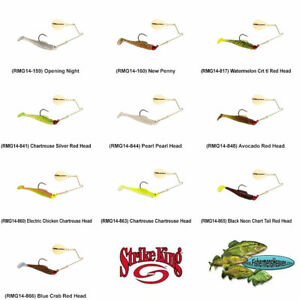 Strike King Saltwater Spinnerbait Redfish Magic 1/4oz Pick Any 10 Colors RMG14