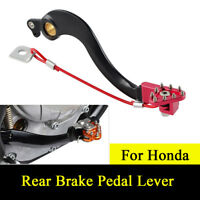 CNC Rear Brake Pedal Lever For Honda CRF250R 04-18 CRF450 02-18 CRF450RX 17-18