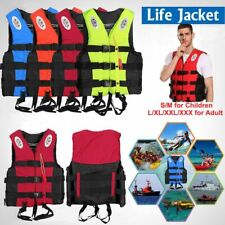 Watersport Adults Kids Life Vest Kayak Ski Buoyancy Aid Sailing Boating Jacket