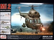 MILL Mi-2 ATTACK HELICOPTER, AEROPLAST,90037, 1/48