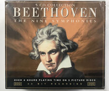 Beethoven - The Nine Symphonies - 5 CD Set (RARE)