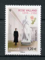 France 2018 MNH Rose Valland Jeu de Paume Museum 1v Set Art Sculpture Stamps