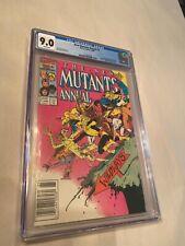 New Mutants Annual #2 CGC 9.0 Near Mint  WP  (1st US Appearance of Psylocke)