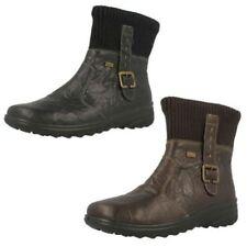 Botas de mujer botines Rieker color principal negro