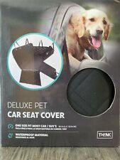 "Think Design- Deluxe Pet Car Seat Cover - 56""x53"""