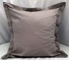 "Single Gray Euro Pillow Sham 26"" x 26"" New 100% Cotton Perfect Fit!"