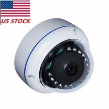 HD 1080P 2.0MP AHD Camera 180 Degree Wide Angle Fish eye Dome 15pcs IR Cyan Led