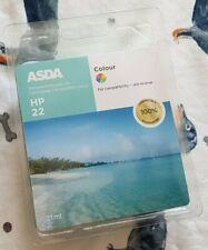 HP22 Color Cartucho de tinta para impresoras de ordenador por ASDA 21ML.