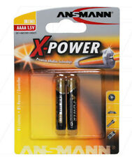 1x2 ANSMANN Alkaline AAAA X-power 1510-0005