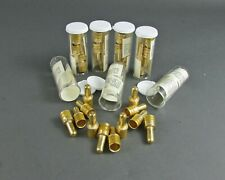 Lot of (28) Gold-Plated ITT CANNON 030-3200-006 Crimp Pin Contacts Size 0 AWG