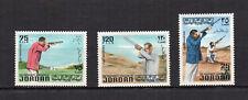 JORDANIE 1972 Y&T N°731 à 733 3 timbres neufs avec charnière /T4002