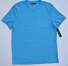 NWT Men's Kenneth Cole Short-Sleeve Tee (T) Shirt  Blue XLarge XL