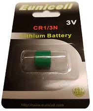 1 x CR1/3N  3V  Lithium Batterie auf 1 Blistercard 1 Stück Eunicell