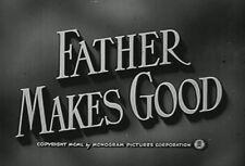 FATHER MAKES GOOD (1950) DVD RAYMOND WALBURN, WALTER CATLETT