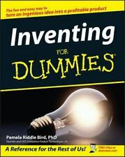 Inventing for Dummies® by Forrest M. Bird and Pamela Riddle Bird (2004, Paperbac