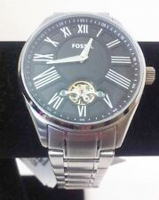 Fossil Unisex Watch Silver Stainless Steel BQ1140