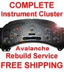 2001-2006 Chevy Avalanche Instrument Gauge Cluster Speedometer Dash Panel Repair