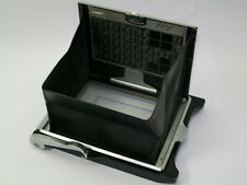 LINHOF FOLDING FOCUSING HOOD 45 9X12CM 4X5 WITH GROUND GLASS & BACK ASSEBLY DHL