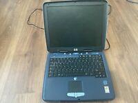HP Omnibook XE3 retro Laptop Notebook Intel Celeron 933Mhz 128MB Ram 10GB Hdd