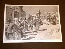 Anno 1906 La Domenica in Albis in Val di Rose Composizione di R. Pellegrini