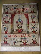 MARIAN HANNAH WINTER LE THEATRE DU MERVEILLEUX CIRQUE SPECTACLE PANTOMIME 1962