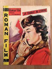 Roman Film d'Amour et d'Aventures N°7  1960 - Le Diable au corps  Gérard Philipe