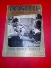 Positif, revue de cinéma n°47, juillet 1962