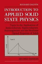 Introduction to Applied Solid State Physics: Topics in the-ExLibrary