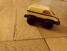 Vintage 1980s Voltron Vehicle Force Yellow car foot SUV Works Great Paint Good