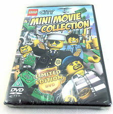 LEGO City Mini Movie Collection-Edizione Limitata DVD-Nuovo-Sigillato Regione EU 2