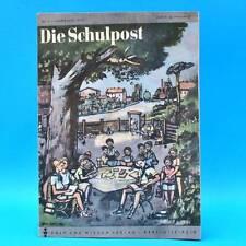 DDR Die Schulpost 7/1949 Zeitschrift für Junge Pioniere FDJ Schule