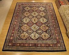9 x 12 Hand Knotted High Quality Afghan Khishti Rug Vegetable Dye Fine Soft Wool