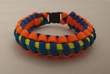 Joint Emergency Services Police Fire Fighters Medics Paracord Bracelet