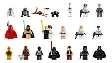 Lego Star Wars Minifiguras Elige Tu Propia