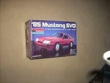 '85 MUSTANG SVO, SEALED INSIDE, OLD, NICE, RARE!