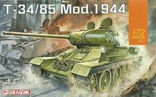 Dragon 1/72 (20mm) T-34/85 Model 1944 Early Production