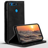 Book Case für Huawei Honor View 20 360 Grad Schutz Hülle Schale Klapp Hülle Etui