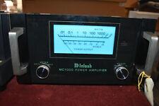 1Pair   Mcintosh MC1000 Monoblock power amplifiers