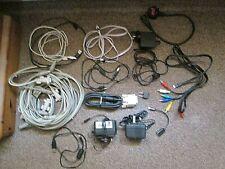 17 Mixed Computer Leads Cables AC Adaptors Etc