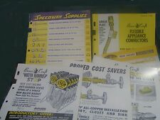 Vintage Brass Craft 1966-68 Catalog & Data Set - Lines & Valves- 6 pcs -FreeShip