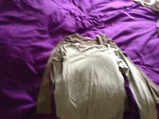 Two long sleeved stretchy tops ladies 8