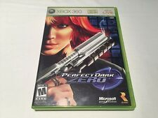 Perfect Dark Zero (Microsoft Xbox 360) Original Release Complete Excellent!