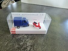 Piaggio Ape50 And Vespa,Busch Toy Car