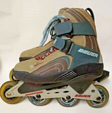 New ListingBauer Xtra 5.5 Inline Roller Hockey Skates Men's Size Us 8 W Wide Eur 40