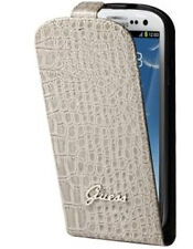 GUFLS3CRB Etui luxe Guess crocodile beige glossy pour Samsung Galaxy S3 i930