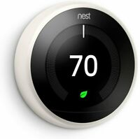 Google Nest 3rd Generation Smart Learning Thermostat - White