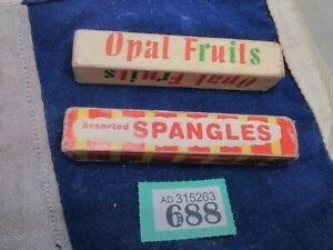 Dummy Sweet Packets Spangles Opal Fruits