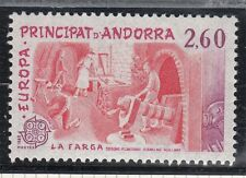 TIMBRE ANDORRE FRANCE NEUF N° 314  **  EUROPA  LA FORGE CATALANE