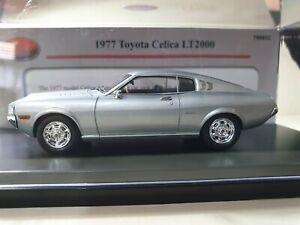 1977 Toyota Celica LT2000 in Silver TRAX 1:43 Scale Model, TRR81C